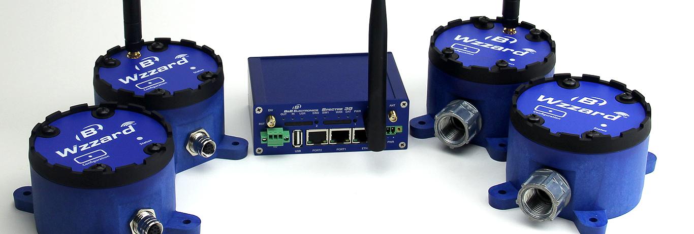 Wzzard IoT intelligenta noder