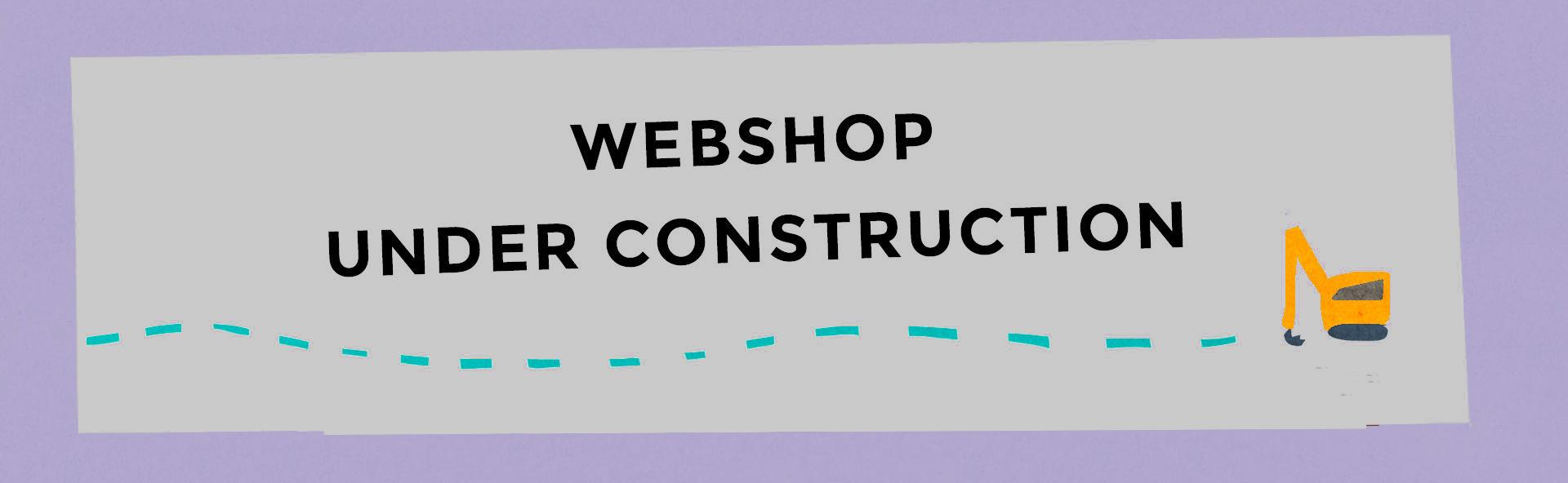 Webshop under uppbyggnad